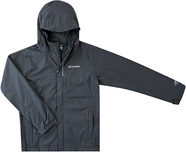 Columbia Youth Boys Timber Pointe Omni Tech Rain Hooded Waterproof Jacket