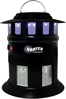 Garden Creations JB5545 Vortex Cordless Electronic Insect Trap With Adapter, 1/2-Acre Coverage