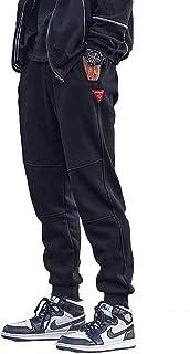 メンズ ジョガーパンツ 裏起毛 厚手 暖パン 防寒 暖かい テーパード 大きいサイズ 冬服 S~3XL