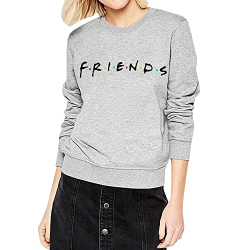 d2b4904f54d Womens Teen Girls Friends TV Show Hoodies Fall Winter Crewneck Sweatshirts  Fleece Pullover Tops