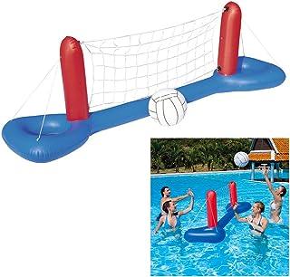 Piscina hinchable de voleibol flotante para niños