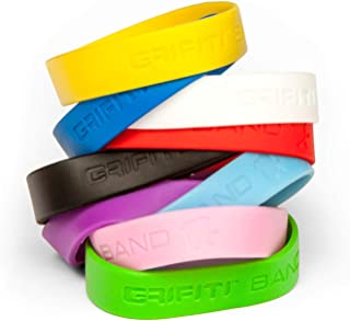 Grifiti Band Joes 4 Inch 5 Pack Assorted Colors Heat Cold UV Chemical Resistant Long Lasting Silicone Rubber Bands for Books, Camera Lens, Art, Cooking, Wrapping, Exercise, Bag Wraps