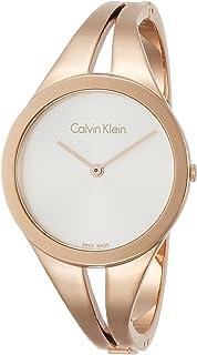 Calvin Klein Women's Analogue Quartz Watch with Stainless Steel Strap K7W2S616