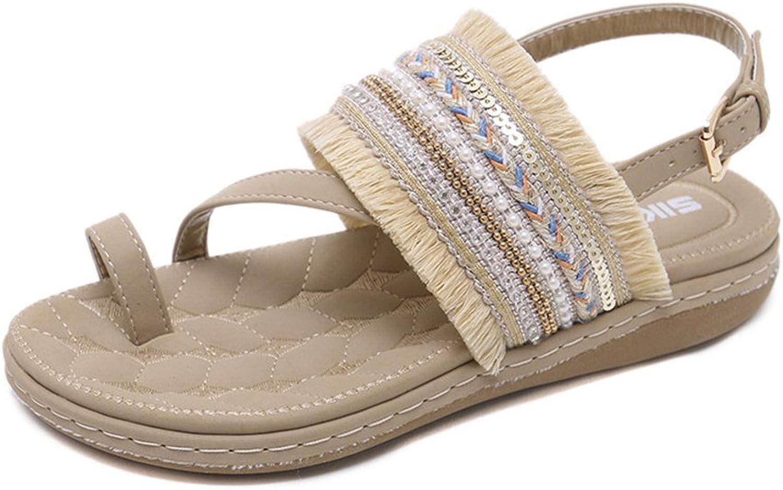 Navoku Cute Leather Fashion Sandles Womens Sandals