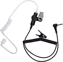 COISOUND Two Way Radio Earpiece Noise Canceling Transparent Security Headset Walkie..