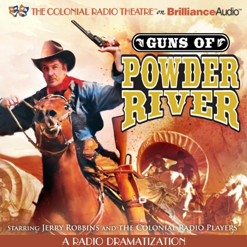 Guns of Powder River audiobook cover art
