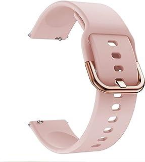 20mm zachte siliconen band voor Huawei GT 2 42mm Smart Watch Sport Armband voor Hono Magic 2 42mm Pols Band Accessoires (C...