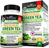 Premium Natural Green Tea Extract Capsules with EGCG for Immune Support & Jitter-Free Energy - Breakthrough Formula Promotes Healthy Fat Burning Metabolism & Weight Loss Support - 60 Capsules