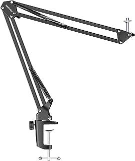 Neewer Adjustable Desktop Clamp Suspension Boom Scissor Arm Stand Holder 360 Degree Rotation Swivel Mount for Logitech Web...