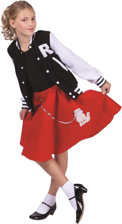 Girls Letterman Jacket Girls Medium (8-10) Size