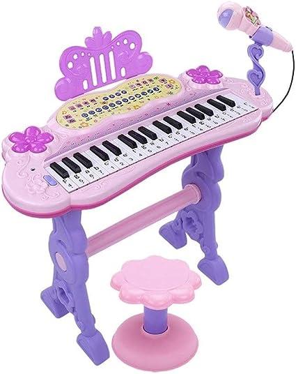 HXGL-piano Juguete De Teclado For Niños con Micrófono ...