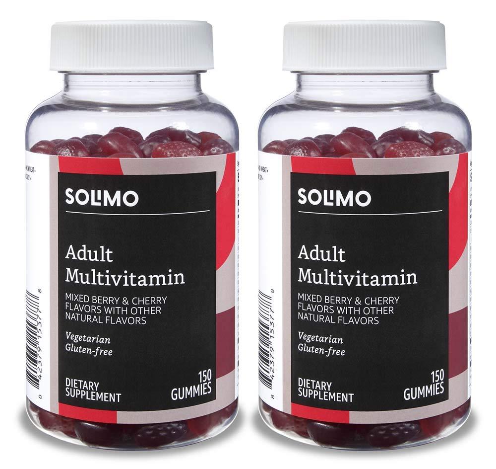 Amazon Brand Solimo Multivitamin Gummies