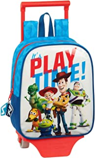 612031280 Mochila guardería ruedas, carro, trolley Toy Story, Multicolor
