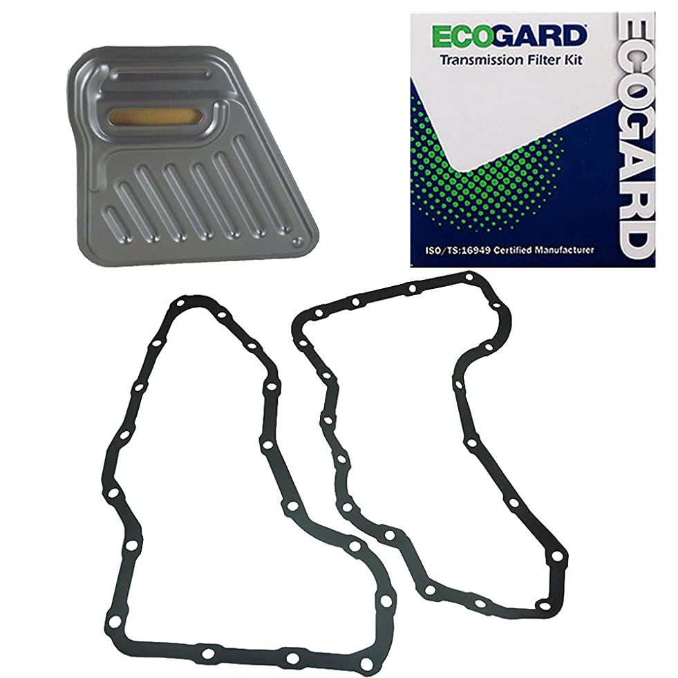 ECOGARD XT1247-2G Transmission Filter Kit for 1996-2000 Ford Windstar, 1996-2001 Taurus, 2006-2007 Freestar | 1995-2005 Mercury Sable, 2006-2007 Monterey | 1996-2002 Lincoln Continental
