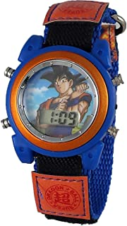 Dragon Ball Z Boy's Digital Light Up Watch