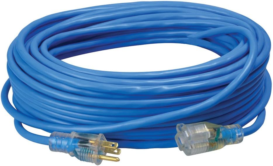 Coleman Cable In a popularity 02469 14 3 SJTW Outstanding Extension Low-Temp Cord wi Outdoor