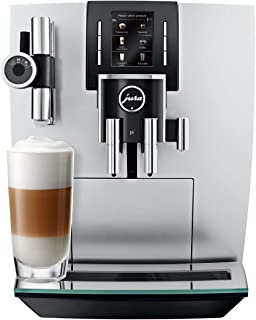 Jura 15150 J6 Coffee Machine, Brilliant Silver
