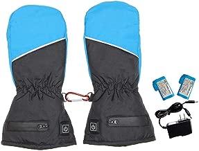 Futureshine Heating Gloves, Ladies Winter Warm Gloves, Three-Speed Thermostat, Fingered Heating Gloves