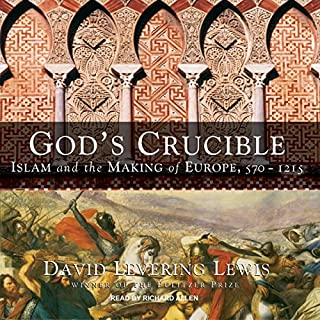 God's Crucible audiobook cover art