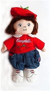 Campbell's Soup Tomato Boy Bean Bag Plush Doll 8