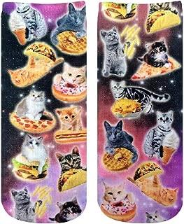 Photo Print Ankle Socks: Cat Cravings