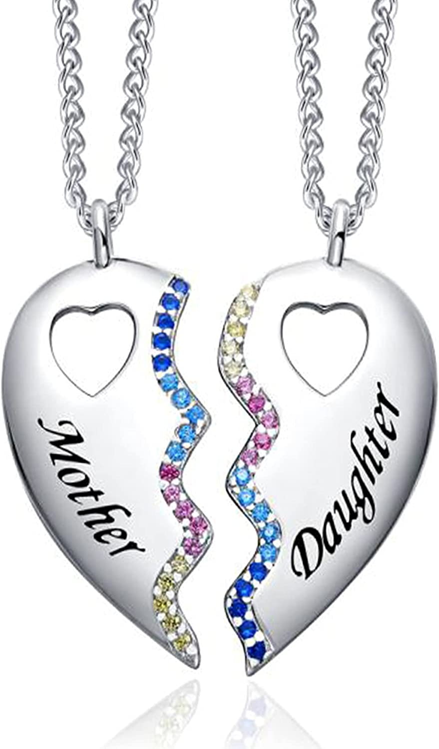 TRENSYGO 925 Sterling Silver Best Friend for 2 Portland Mall High quality Bestie M Necklace