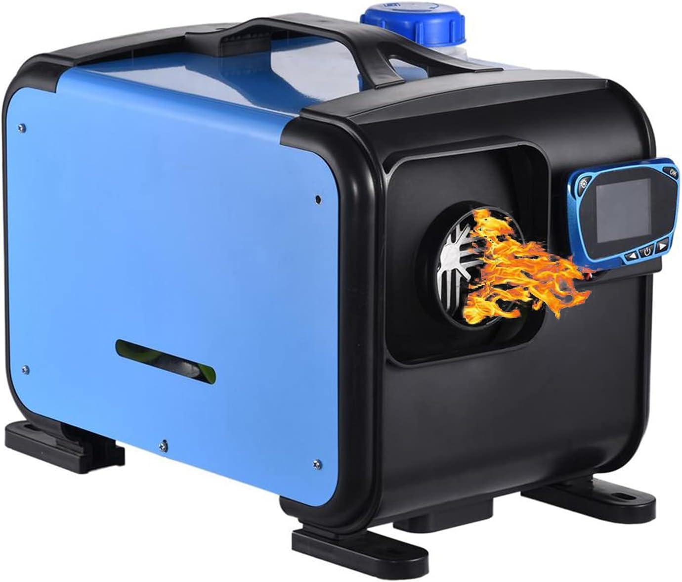 Calentador de combustible de estacionamiento diésel de aire integrado, calentador de cobre de encendido autónomo para camiones, casas rodantes, botes, garaje para autobuses,12v 8kw