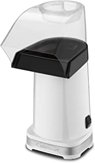 Cuisinart CPM-100W EasyPop Hot Air Popcorn Maker, White (Renewed)