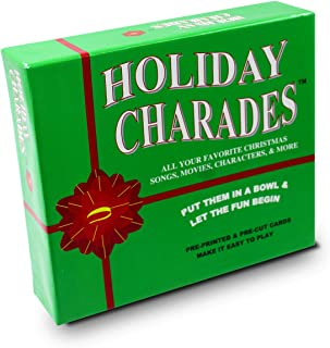 Anton Publications Holiday Charades Game | This Classic and Original Charades Game is The Perfect Addition to Your Other Holiday Games.