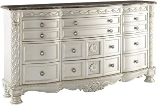 Signature Design by Ashley Cassimore Dresser, Pearl Silver