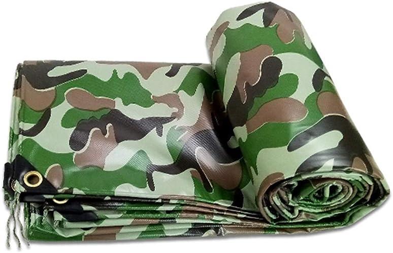 Baches camouflage robustes   Couverture de remorque de tente imperméable au sol   Bache en plusieurs tailles   450g   m2 (taille   3×4m)