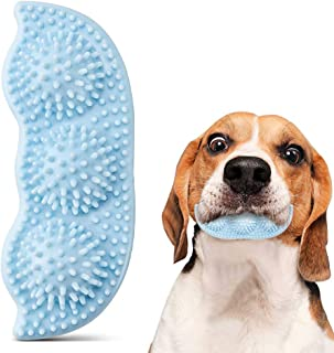 Ausget Puppy Teething Chew Toys 2-8 Months-Soothes Itchy Teeth and Painful-360°Dog Teeth Cleaning-Dog Chew Toys (Blue)