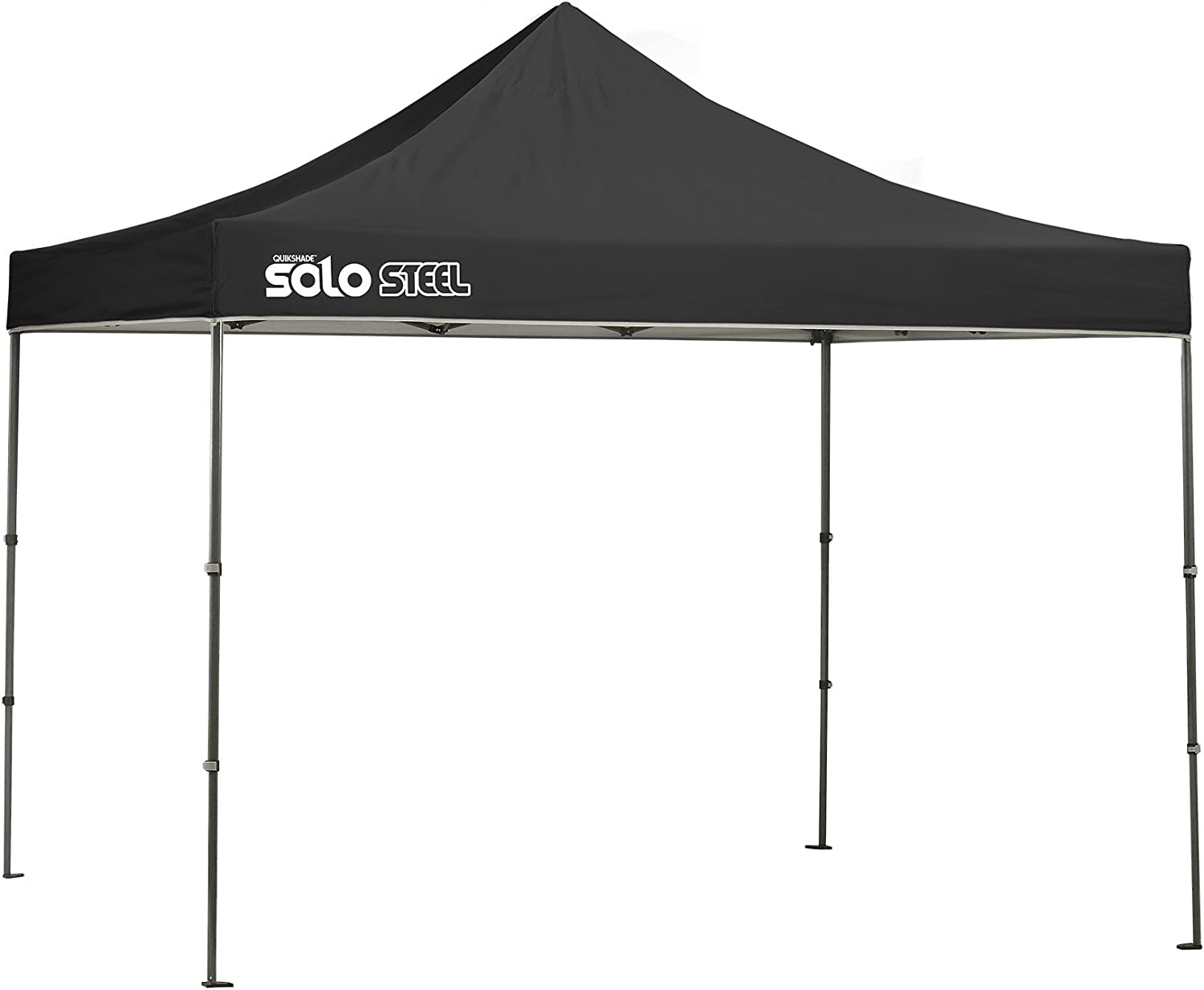 Quik Shade Solo Steel 100 10 Canopy Straight x OFFicial Leg online shop ft.