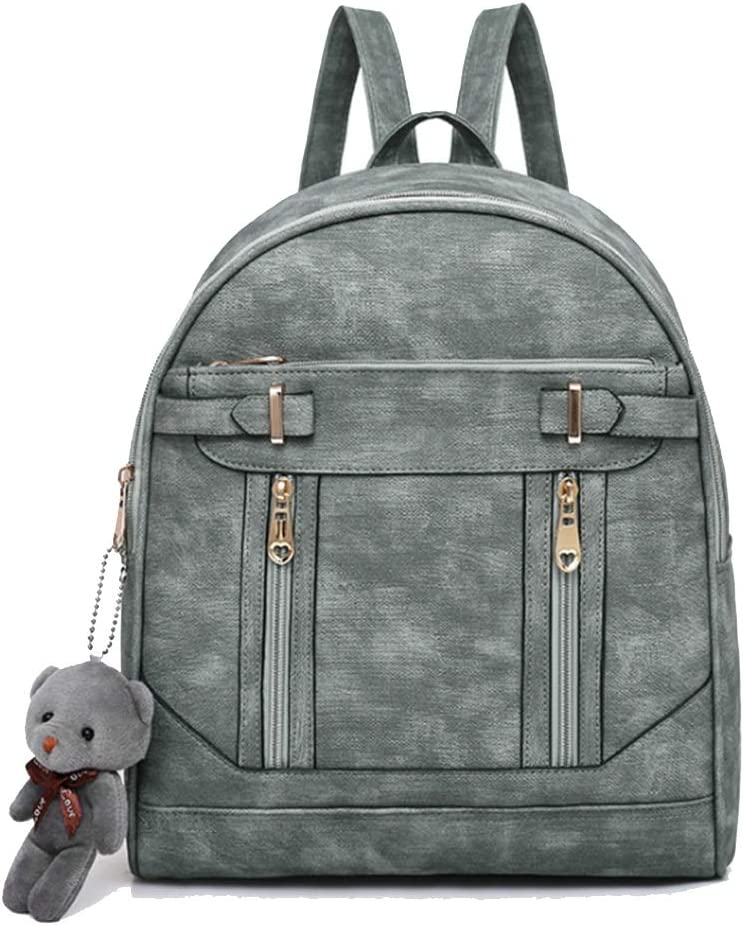 Mini Backpack Popular overseas 2021 New Excellent Zipper PU Personality