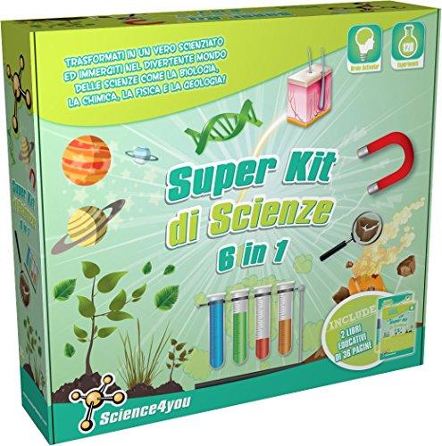 Super Scienze Kit 6 in 1 - Gioco Educativo e...