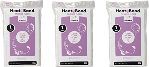"""popular Thermoweb Heat'n Bond High Loft Iron-On Fusible Fleece-Sewable White lowest lowest 20""""X36"""" (3339) (2-Pack, White) (Тhrее Расk) outlet online sale"""