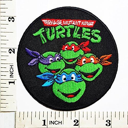 Amazon.com: Teenage Mutant Ninja Turtles Cartoon Kid patch ...