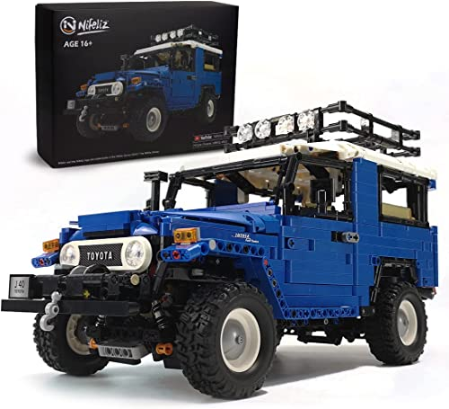 high quality Nifeliz Off-Road Pickup J40 Land popular Cruiser MOC Technique Building Blocks and Engineering Toy, Adult Collectible Model Cars Kits new arrival to Build, 1:12 Scale Truck Model (2101 Pieces) online sale
