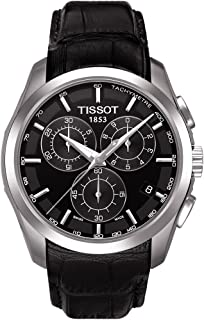Tissot Mens Quartz Watch, Analog Display and Leather Strap T035.617.16.051.00
