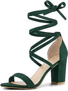 Emerald Green Sandals - Shoes / Women