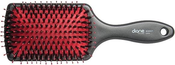 Diane Red Cushion Square Paddle Brush