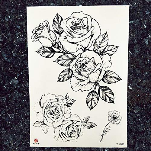tzxdbh 5Pcs-25 Diseño Rose Reloj Tatuaje Pegatinas Pulsera Cadenas ...