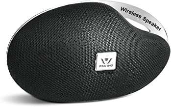 Portable Wireless Bluetooth Speakers with Loud Stereo Sound,Compatible with MP3/iPhone/Tablet/Computer,Small Bluetooth Speaker for Shower/Home/Travel/Party/Car