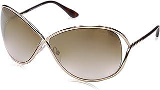 FT0130 Sunglasses, Shiny Rose Gold