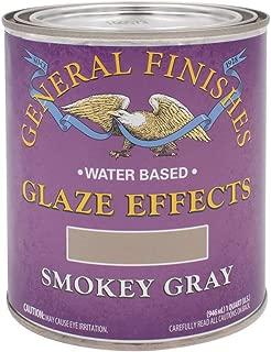 General Finishes Water Based Glaze Effects, 1 Quart, Smokey Gray