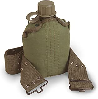 Stansport Plastic Canteen with Cover and Belt Set