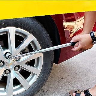 Clé de pneu de voiture pneu rétractable clé de réparation automatique Kit de pneu cosse télescopique clé à douille clé out...