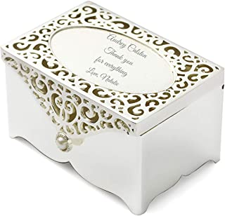 engraved silver box