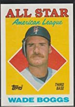 1988 topps wade boggs all star