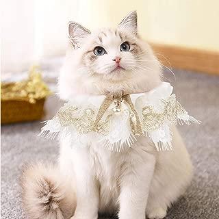 AriTan Personalized Pet Cat Dog Bandana Costume Apparel Triangle Scarf Accessories